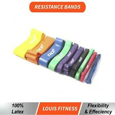 OZ Heavy Duty Strength RESISTANCE POWER BANDS Home Gym Fitness Workout Yoga Loop