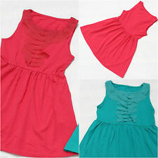 Unbranded Patternless Casual Dresses (0-24 Months) for Girls