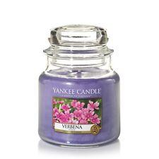 YANKEE CANDLE candela profumata giara media Verbena duarta 90 ore