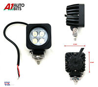 POTENTE Delantero Parachoques NUDGE BAR & Spot 4 SMD LUCES LED 12v Día Luz