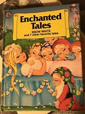 Enchanted Tales Snow White and other Favorite Tales 1985 Children Books