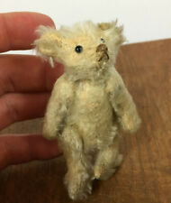 Antique Vintage Jointed Mohair Mini Small Toy Steiff Bear 1800's 1900's Children