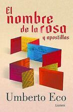 El Nombre de La Rosa (Edician Especial)/ The Name of the Rose (Paperback or Soft