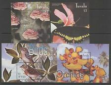 TUVALU SGMS1112 2003 BIRDS, BUTTERFLIES, FLOWERS & ORCHIDS MNH