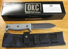 NEW Ontario 7500PC SK-5 Blackbird Noir Hedgehog Knife & Sheath USA MICARTA!!!