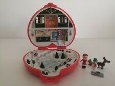 Polly Pocket Bluebird 1989 Christmas Noël Musique Ok + Personnages