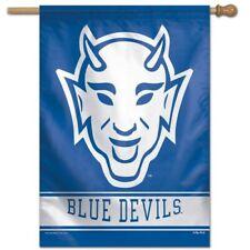 DUKE UNIVERSITY BLUE DEVILS Devil-Face Style Premium 28x40 BANNER Flag