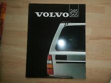 VOLVO 245.265 original1982 English Mkt prestige sales brochure.nr Mint