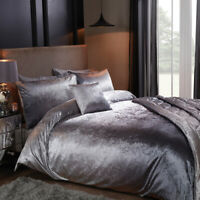 Sleepdown Ombre Velvet Bedding Set  |  Bedding Sets & Pillow Case's