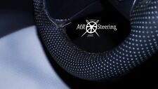 FOR TOYOTA LAND CRUISER 80 PERFORATED LEATHER STEERING WHEEL COVER 89+ DOUBLE ST