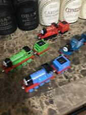 Thomas The Train Lot James Thomas Ferdinand Henry 2009 Diecast Metal Mattel Mint