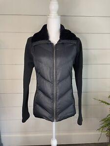Marmot Women's Thea Jacket sz Med Black 700 Fill Power Down Defender Body