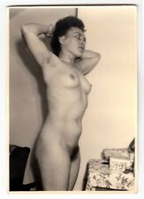 Mature wife posing nude for husband/nudo * VINTAGE 1950s amatoriale Photo #7