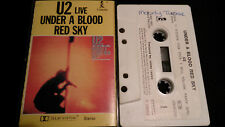 U2 Live Under A Blood Red Sky New Zealand Original Mc Tape 1983
