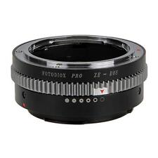 Fotodiox Pro Lens Mount Adapter, Mamiya ZE 35mm Lens to Canon EOS