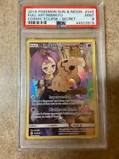 2019 Pokemon Cosmic Eclipse Mimikyu Full Art Secret 245/236 PSA 9
