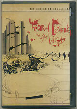 FEAR AND LOATHING IN LAS VEGAS; 2003 DVD Criterion Collection; Johnny Depp