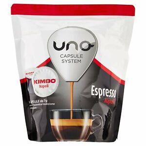 96 Capsule illy Kimbo Uno System Indesit miscela  NAPOLI -100% Originali