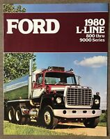 1980 Ford L-Line original American sales brochure