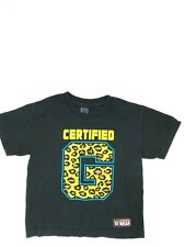 Youth Boys WWE Wrestling Certified G T-shirt Authentic Enzo & Big Cass Size S