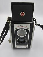 Vintage Kodak Dualflex III Camera Brownee UNTESTED Free Shipping