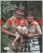 Steve Irwin & Terri Signed Autographed 8x10 Photo Reprint