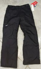 "SkiGear Men's Black Ski Snowboard Pants Size: Large 30"" inseam"