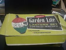 Vintage Thomas Garden Lite Multiple Lantern Set