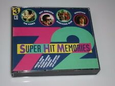 Super hit Memories CD BIG-BOX 3 CD 's avec roy Orbison/the KINKS/Joe Cocker