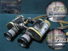 Antique Military WWII Binoculars dienstglas 6x30 #146491 M H/6400