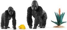 Schleich 42382 Gorilas Auf Forrajeo Serie Animales Salvajes