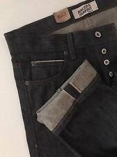 NAKED & FAMOUS Denim NWT Men's Jeans Indigo 10 oz Selvedge Skinny Guy Size 32x38