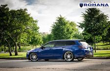 20X8.5 +40 Rohana RF2 5x114 Titanium Wheels Fit Acura Tsx V6 Sport Wagon Concave