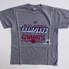 NFL New York Giants Conference Champions American Football T-shirt - Size Large