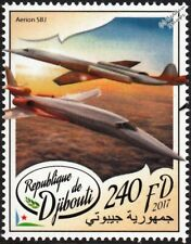 AERION SBJ / AS2 Supersonic Business Jet Aircraft Stamp