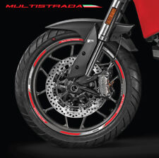 Multistrada 950 wheel decals stickers rim stripes for Ducati Laminated 19 17''