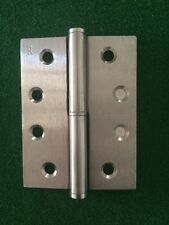 2x Lane Lift Off Door Hinge 100x75x2.5mm Stainless Steel Right Hand Pin