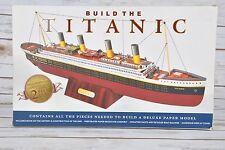 Build The Titanic Paper Model Kit