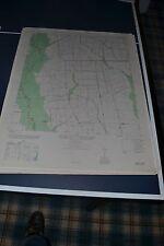 1940's Army topo map Walley Texas Sheet 7043 IV NW Dayton