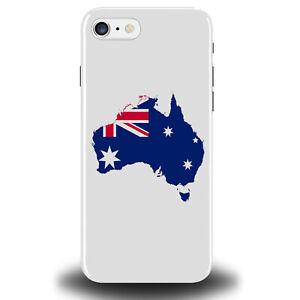 Australia Phone Case Australian Flag Travelling Gift Present Ozzie Design 248