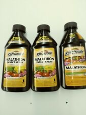 New listing (3) Malathion Insecticide Spray Concentrate 16oz ~ New - Spectracide - 3 pack!