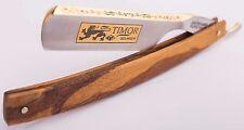 Timor Solingen Rasiermesser Gold 6/8 Carbonstahl straight razor made in Germany