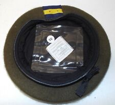 POW PRINCE OF WALES REGIMENT WOOL BERET - Size: 55cm , British Army Issue