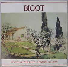Bigot 33 tours Poète et fabuliste nimois