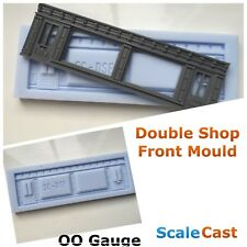 Linka Compatible Double Shop Front - OO/HO Gauge Model Railway Scenery - CM07