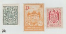 Spain Colonies Fiscal Revenue stamp -12-20- Scarce mnh gum all 3