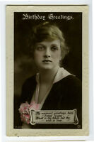 1910s British Vintage GLADYS COOPER actress British photo postcard