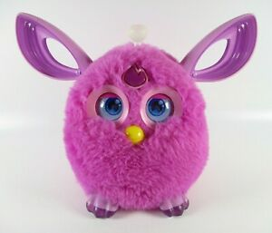 Furby Connect Magenta (Purple) Interactive Bluetooth Toy Tested Working NO MASK