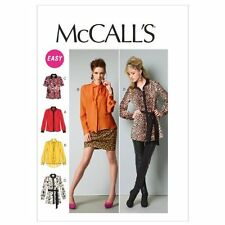McCall Patterns M6606 Misses' Tops, Tunic and Tie, Size F5 (16-18-20-22-24)