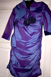 Prom Idol Purple Colour Mother of the bride size 18